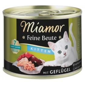 Miamor Feine Beute Kitten Geflugel - drób puszka 185g